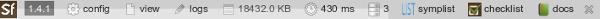 Web Debug Toolbar