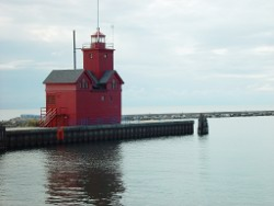 Lighthouse in Beautiful Holland, MI
